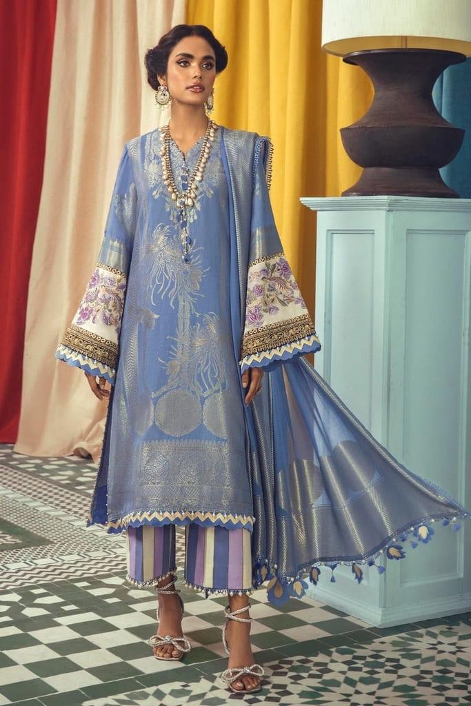 SANA SAFINAZ | LUXURY WOVEN Collection'21 | C211-001B-CU