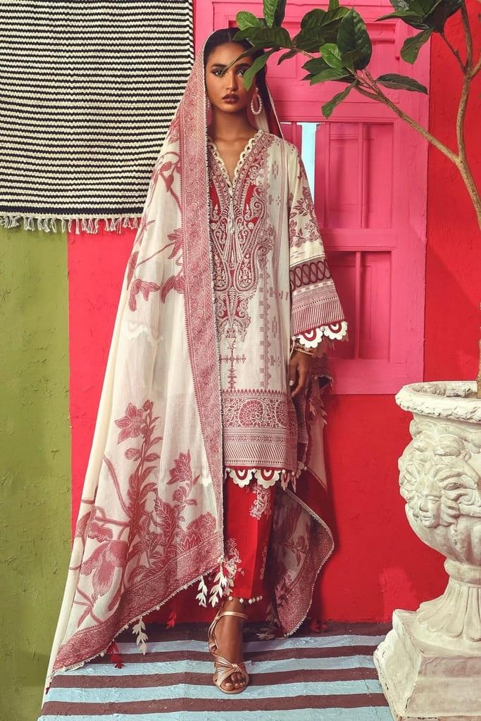 SANA SAFINAZ | LUXURY WOVEN Collection'21 | C211-004A-CU