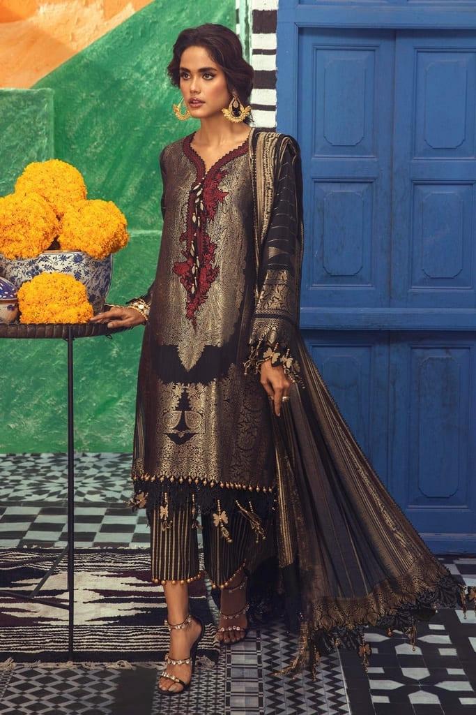 SANA SAFINAZ | LUXURY WOVEN Collection'21 | C211-005A-CU