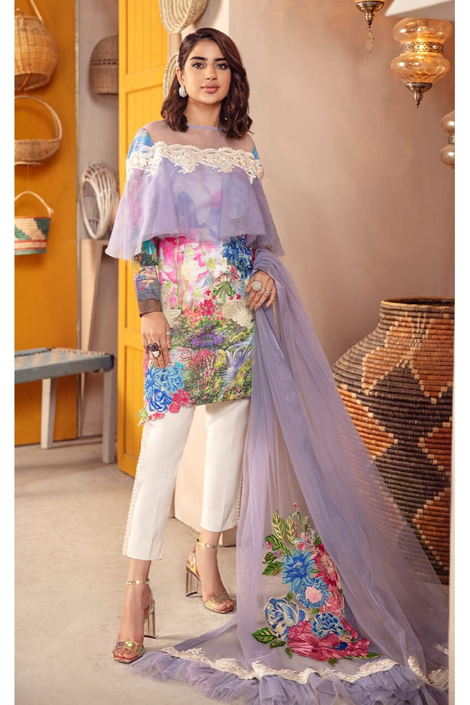 ASIFA N NABEEL | BELLA CAMBRIC Collection SS'21 | CASSIA CB-2B