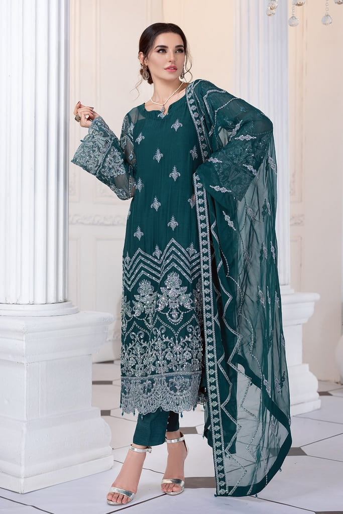 MEERAL | ASHNA CHIFFON Collection'21 | 06- DARIA