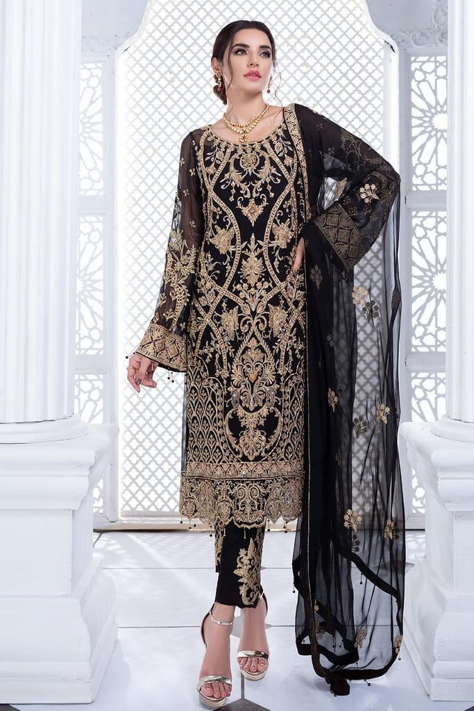 MEERAL | ASHNA CHIFFON Collection'21 | 02- NURAANI