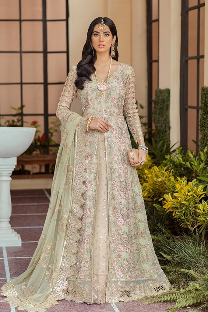 IMROZIA | SOIREE FORMAL Collection'21 | S-1031 Olive Moss