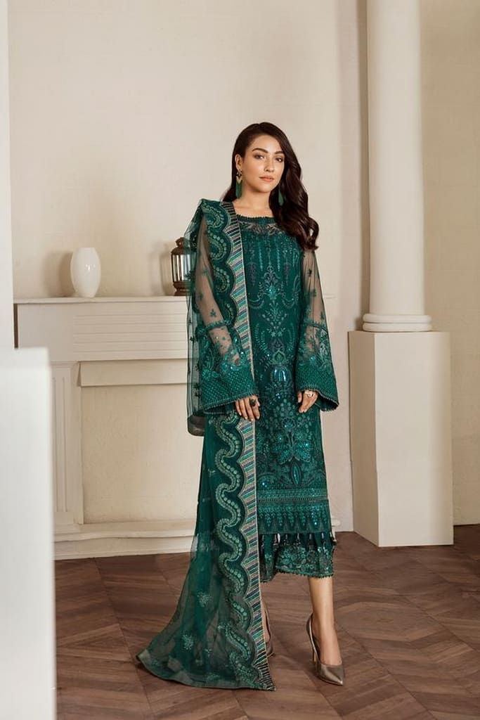 BAROQUE | FANCY COLLECTION | FOREST GREEN