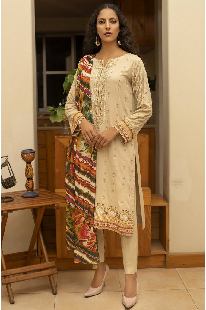 LAKHANY | WINTER EMBROIDERED VOL-01 | WCC-5024