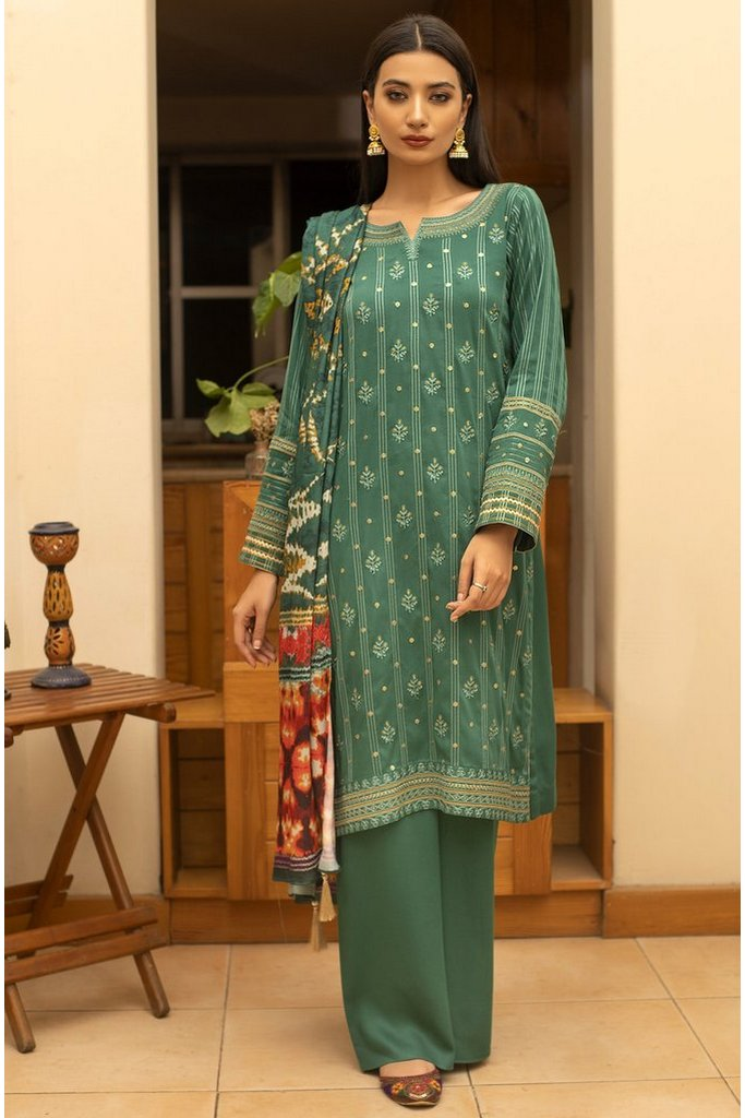 LAKHANY | WINTER EMBROIDERED VOL-01 | WCC-5022